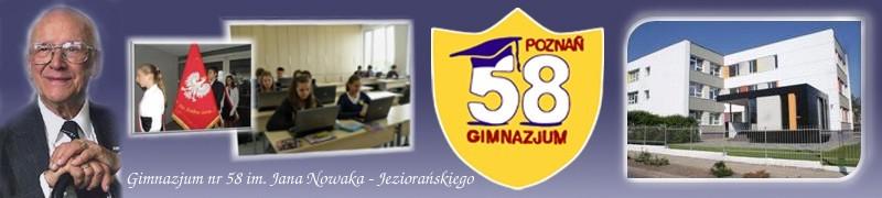 Witaj w Gimnazjum 58 w Poznaniu